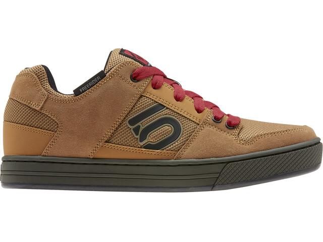 adidas Five Ten Freerider Mountain Bike Shoes Men raw desert/core black/glory red